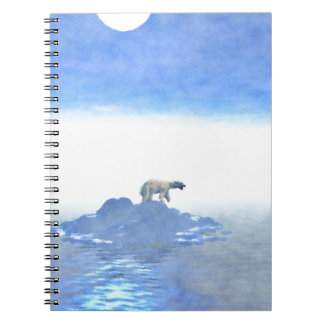 Polar Bear On Iceberg Notebooks