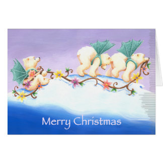 Polar Bear Parade Card