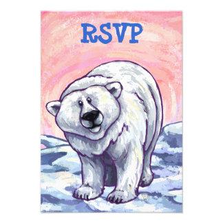 Polar Bear Party Center Announcement
