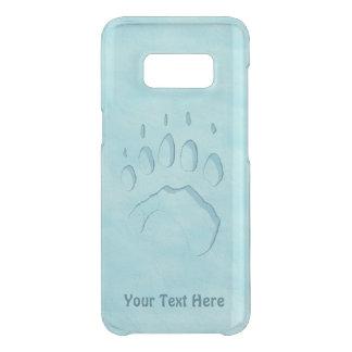 Polar Bear Paw Print Uncommon Samsung Galaxy S8 Case