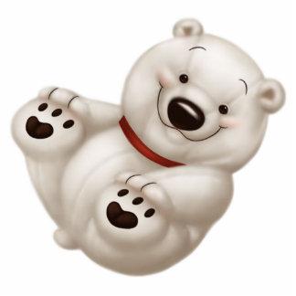 polar bear photo cutout