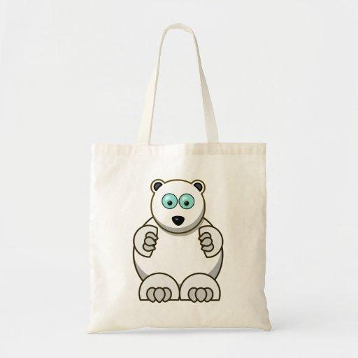 Polar bear polar ice bear bags
