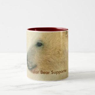 Polar Bear Portrait Collection Coffee Mugs