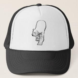 Polar Bear Prowling Trucker Hat