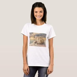 Polar Bear Rests On The Ice - Arctic Alaska T-Shirt
