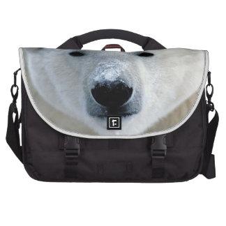 Polar Bear Rickshaw Messenger Bag Laptop Commuter Bag
