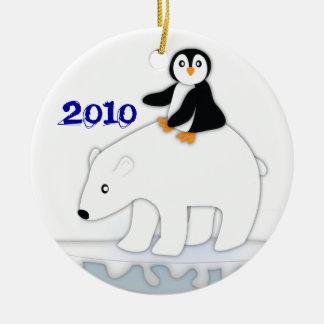 Polar Bear Ride Ornament