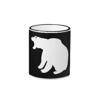 Polar Bear Ringer Coffee Mug