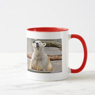 Polar Bear Roaring Mug