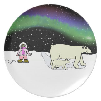 Polar Bear Safari Plates