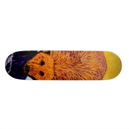 Polar bear skateboard