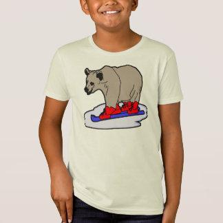 Polar Bear Skiing Tees