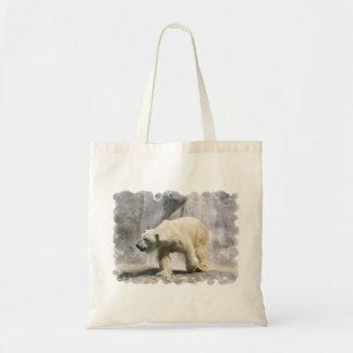 Polar Bear  Small Tote Bag