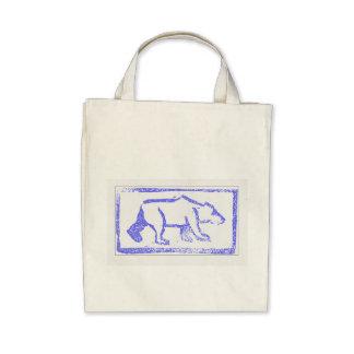 Polar Bear Stamp Bags
