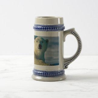 Polar Bear Stein Coffee Mug