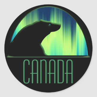 Polar Bear Stickers Wildlife Canada Stickers