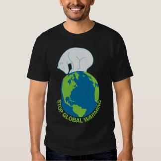 Polar Bear Stop Global Warming TShirt