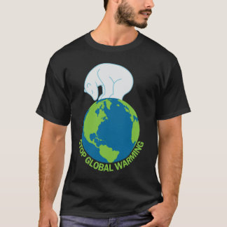 Polar Bear Stop Global Warming TShirt