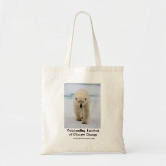 Polar Bear Survivor Small Tote