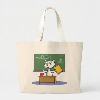 Polar Bear Teacher Tote Bags