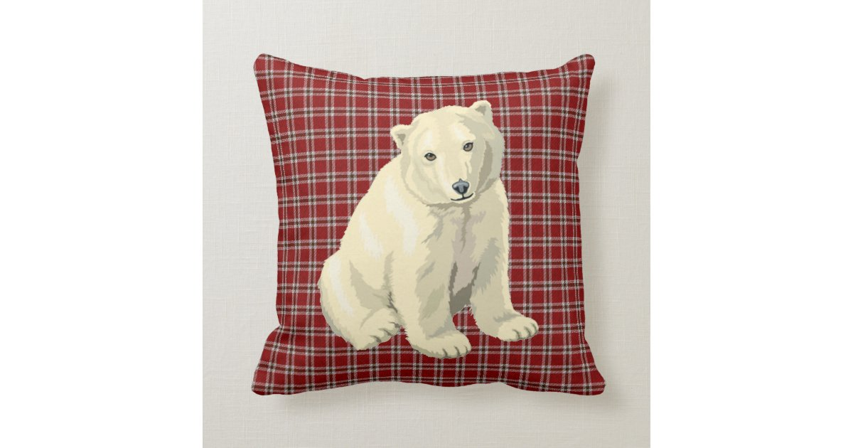 Polar Bear Throw Pillow : polar bear throw pillow Zazzle.ca