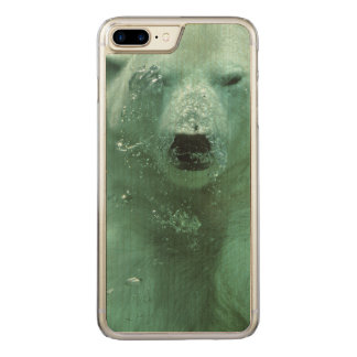 Polar Bear Under Water Carved iPhone 8 Plus/7 Plus Case
