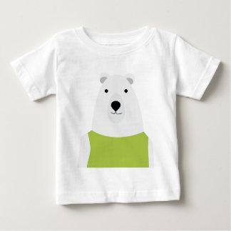 Polar Bear Waving Baby T-Shirt