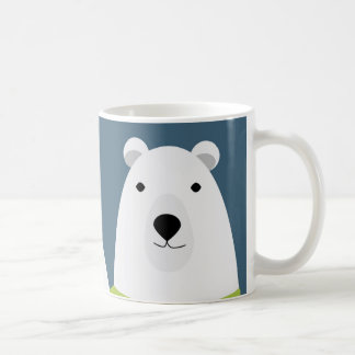 Polar Bear Waving Coffee Mug