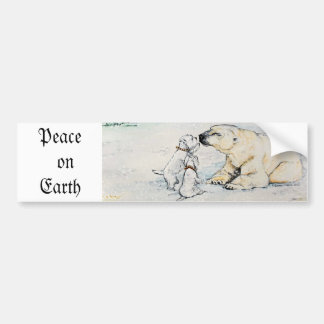 Polar Bear Westies Bumper Sticker