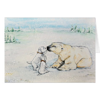 Polar Bear Westies Card