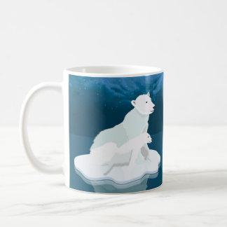 Polar Bear, Winter Holiday Gift Mug