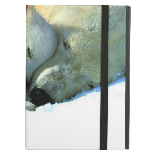 Polar Bear with Cub Powis iCase iPad Cases