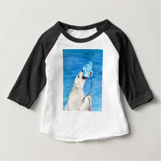Polar Bear with Toasted Marshmallow Baby T-Shirt