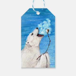 Polar Bear with Toasted Marshmallow Gift Tags
