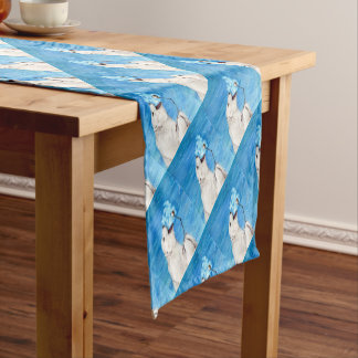 Polar Bear with Toasted Marshmallow Short Table Runner
