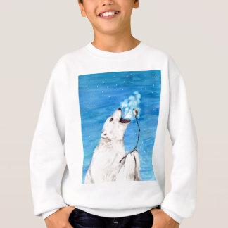 Polar Bear with Toasted Marshmallow Sweatshirt
