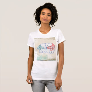 Polar Bear Women's American Apparel Fine Jersey T-Shirt