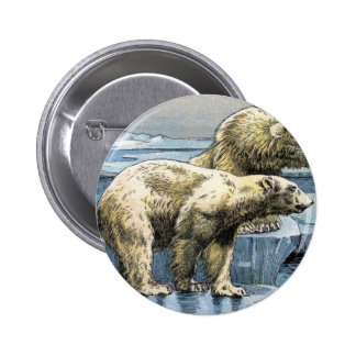 Polar Bears 2 Inch Round Button
