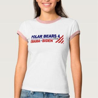 Polar Bears 4 Obama Biden 2008 T-Shirt