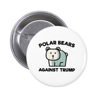 Polar Bears Against Trump 2 Inch Round Button