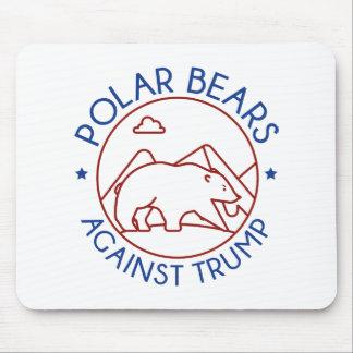 Polar Bears Against Trump Mouse Pad