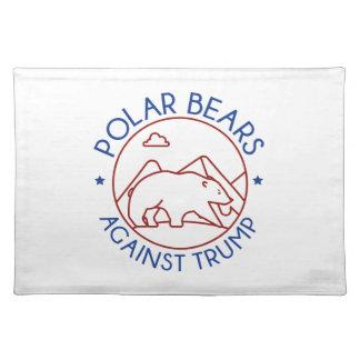 Polar Bears Against Trump Placemat