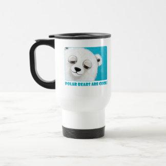 Polar Bears are Cool - Cute Mug