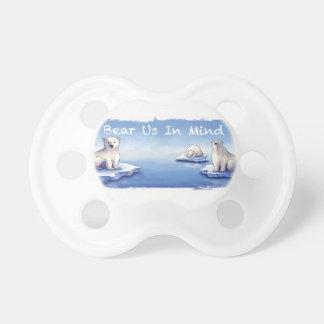 Polar Bears – Bear Us In Mind Pacifier