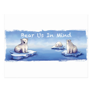 Polar Bears – Bear Us In Mind Postcard