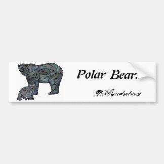 Polar Bears Bumper Sticker