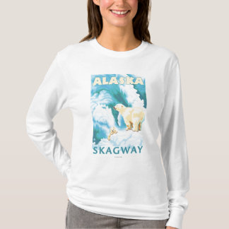 Polar Bears & Cub - Skagway, Alaska T-Shirt