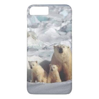 Polar Bears Cubs Arctic Wildlife iPhone Case