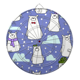 polar bears dartboard