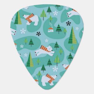 Polar Bears Guitar Pick